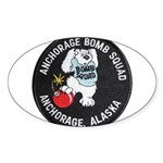 Anchorage Bomb Squad Sticker (Oval)