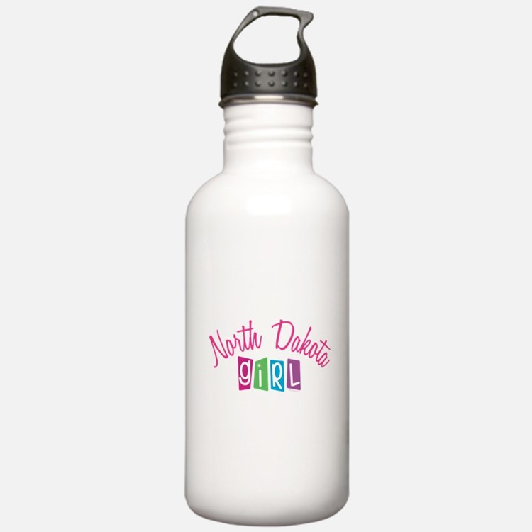 NORTH DAKOTA GIRL! Water Bottle