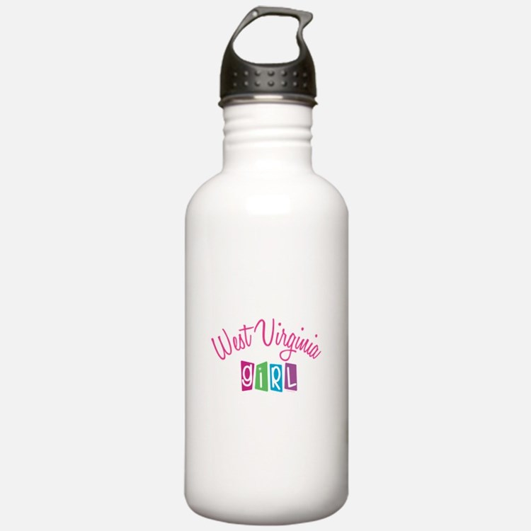 WEST VIRGINIA GIRL Water Bottle