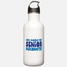 ELIGIBLE FOR SENIOR DISCOUNTS Water Bottle