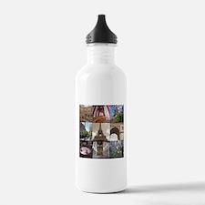 Paris in Spring Water Bottle