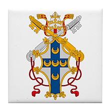 Pope Pius II  Tile Coaster