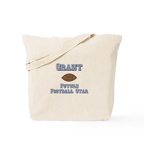 Grant - Future Football Star Tote Bag