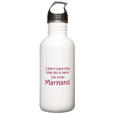 From Maryland Stainless Water Bottle 1.0L