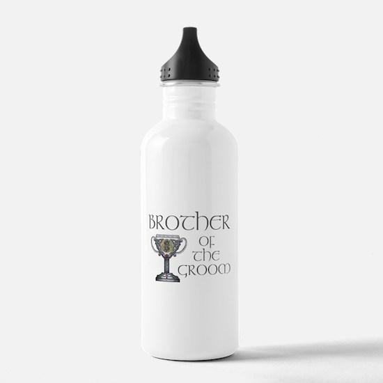Celtic Brother Groom Water Bottle