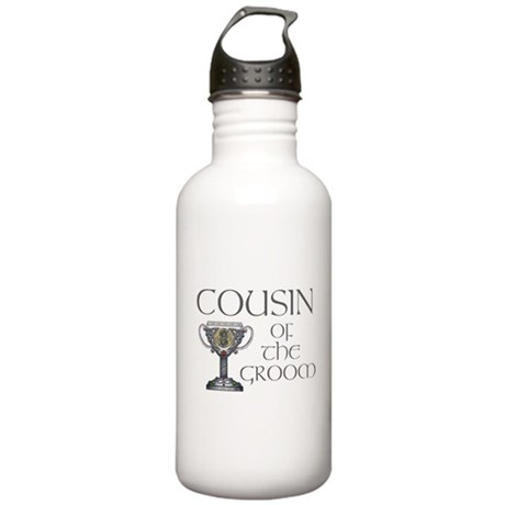 Celtic Cousin Groom Stainless Water Bottle 1.0L