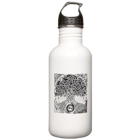 Celtic Tree of Life Ink Stainless Water Bottle 1.0
