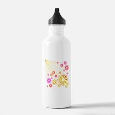 Flower Explosion Water Bottle