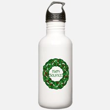 Celtic Solstice Wreath Water Bottle