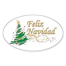Feliz Navidad Decal