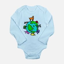 Animal Planet Rescue Long Sleeve Infant Bodysuit