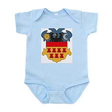 Transylvania Coat of Arms Infant Creeper