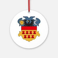 Transylvania Coat of Arms Ornament (Round)