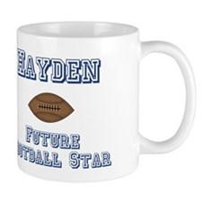 Hayden - Future Football Star Mug
