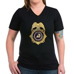 GSA Special Agent Women's V-Neck Dark T-Shirt