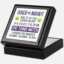 Isner Epic Match Keepsake Box