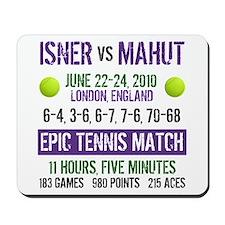 Isner Epic Match Mousepad