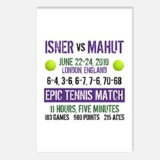 Isner Epic Match Postcards (Package of 8)