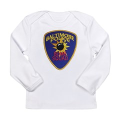 Baltimore Bomb Squad Long Sleeve Infant T-Shirt
