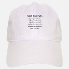 Fight. Ever Fight. Baseball Baseball Cap