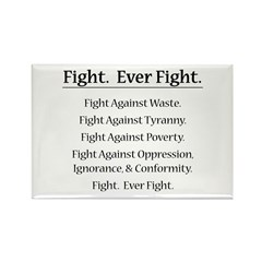 Fight. Ever Fight. Rectangle Magnet (100 pack)