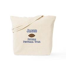 Jacob - Future Football Star Tote Bag