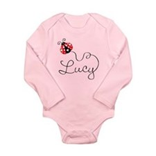Ladybug Lucy Long Sleeve Infant Bodysuit