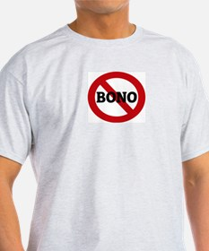 Anti-Bono Ash Grey T-Shirt