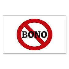 Anti-Bono Rectangle Decal