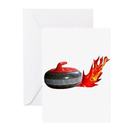 Flaming Rock Greeting Cards (Pk of 10)