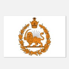 Persia Coat of Arms Postcards (Package of 8)