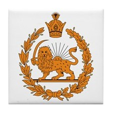 Persia Coat of Arms Tile Coaster