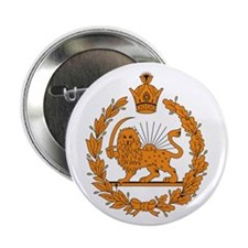"Persia Coat of Arms 2.25"" Button (10 pack)"