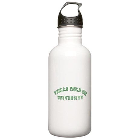 Texas Hold Em Stainless Water Bottle 1.0L