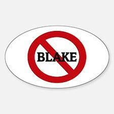 Anti-Blake Oval Decal