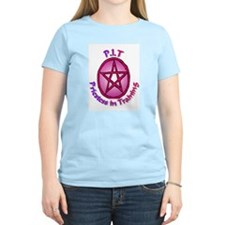 PIT Priestess in Training Women's Pink T-Shirt