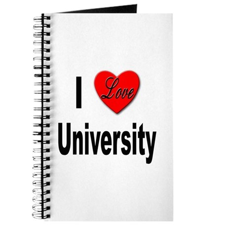 I Love University Journal