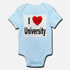I Love University Infant Creeper