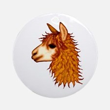 Awesome Alpacas Ornament (Round)