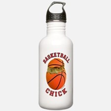Basketball Chick 2 Water Bottle