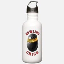 Bowling Chick 2 Water Bottle