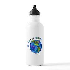 Earth Day Water Bottle