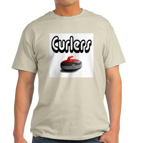 Curlers Rock Ash Grey T-Shirt