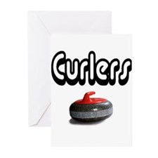 Curlers Rock Greeting Cards (Pk of 10)