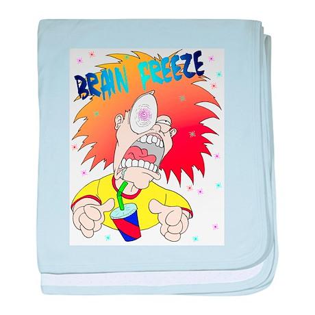 Brain Freeze! baby blanket