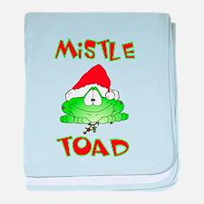 Mistle Toad baby blanket