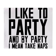 Party Naps Throw Blanket