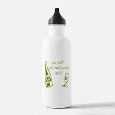 Chardonnay Me Water Bottle