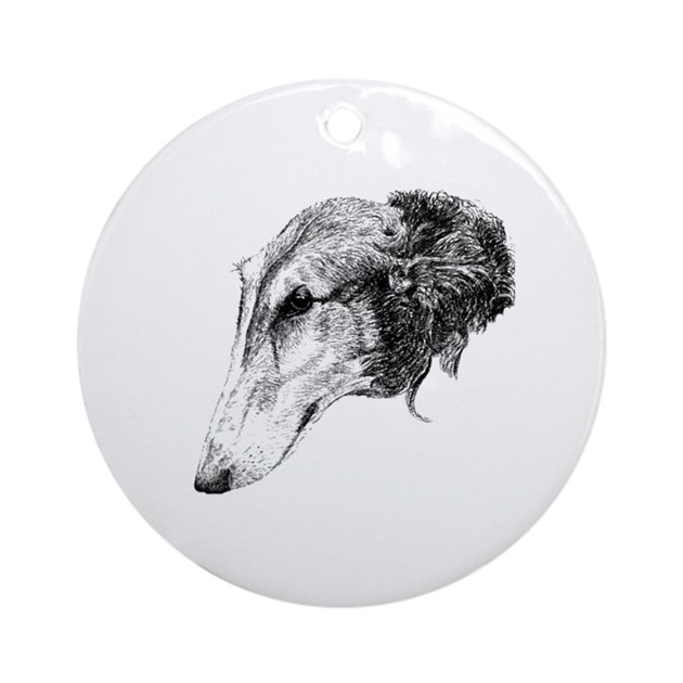 Percival Rosseau 1911- Borzoi Head Study | art | Dog art ...