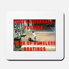 Homeless Beating Mousepad